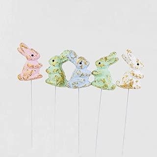 Euro Flora Renkli Tavşan Pike 6'lı Paket 25 Cm