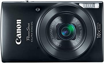 Best Canon Cameras US 1084C001 Canon PowerShot ELPH 190 Digital Camera w/ 10x Optical Zoom and Image Stabilization - Wi-Fi & NFC Enabled (Black) Review