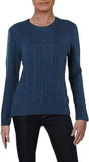 Womens Julianna Wool Long Sleeves Pullover Sweater