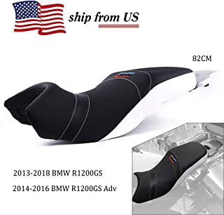 UltraSupplier US Stock!!! 82cm Lower Low Comfort Driver Rider Passenger Seat Cover with Luggage Plate for BMW R1200GS R1200 GS R 1200 GS ADV Adventure 2013 2014 2015 2016 2017 2018 13-18