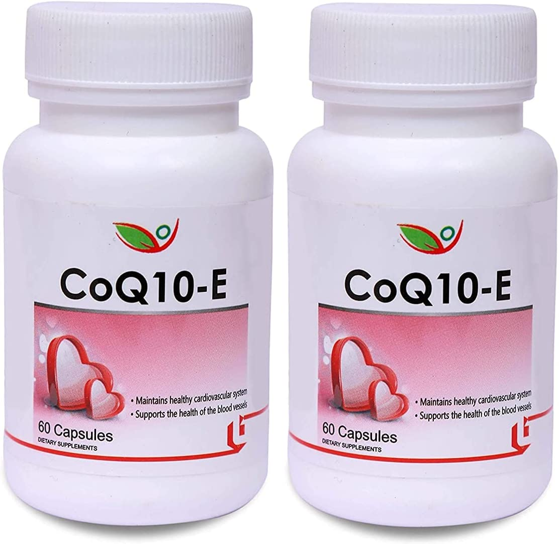 Carlos CoQ10-E Vitamin E Assists Cheap mail order shopping free 100mg Capsules of 60 Pack