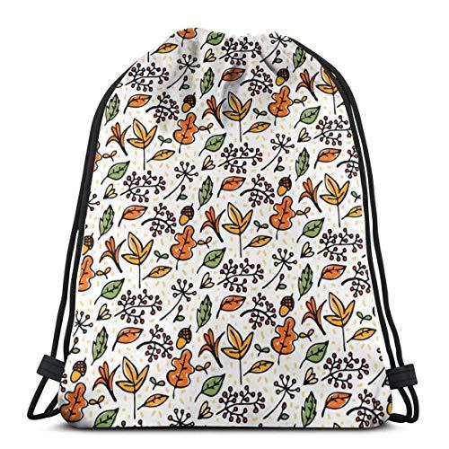 Lawenp Pineapple Unisex Outdoor Gym Sack Bag Sport Drawstring Backpack Bag