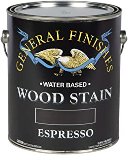 General Finishes Water Based Stain Espresso Gallon