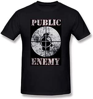 2018 Public Shirt Enemy Hip Hop Rap Group T-Shirts