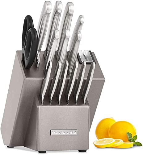 2021 KitchenAid KKFSS16CS popular Architect Series 16-Pc. Stainless new arrival Steel Cutlery Set sale