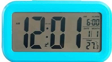 Ajanta Quartz Plastic Digital Alarm and Table Clock, (13 x 8 x 4 cm, Blue ODC 210)