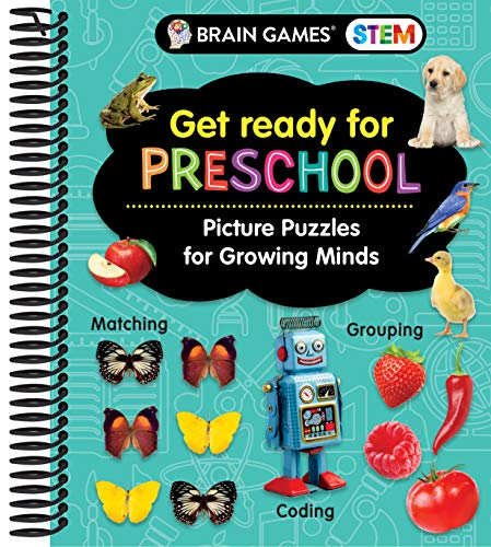 Brain Games STEM - Get Ready for Preschool: Picture Puzzles for Growing Minds