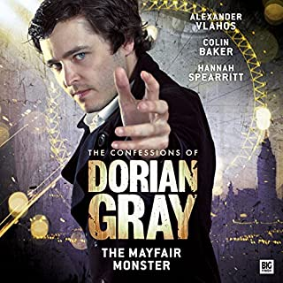 The Confessions of Dorian Gray - The Mayfair Monster audiobook cover art