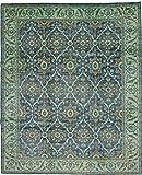 Nain Trading Arijana Design 295x242 Orientteppich Teppich Dunkelgrau/Hellblau Handgeknüpft Afghanistan Design Teppich Modern