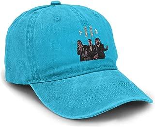 Yuliang Migos Culture II Classic Unisex Adult Adjustable Snapback Cowboy Hat Black