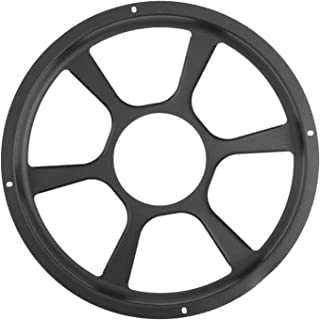 """Greatly Store Universal 12"""" Round Car Audio Speaker Protective Cover Loudspeaker Decorative Mesh Grille Grill Trim Auto Ac..."""