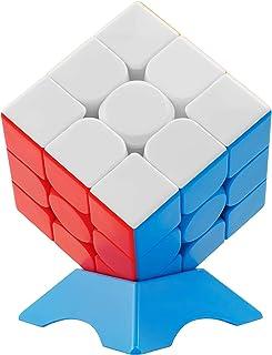 XMD Speed Cube 3x3 Stickerless Magic Cube 3x3x3 Puzzles Toys (56mm)