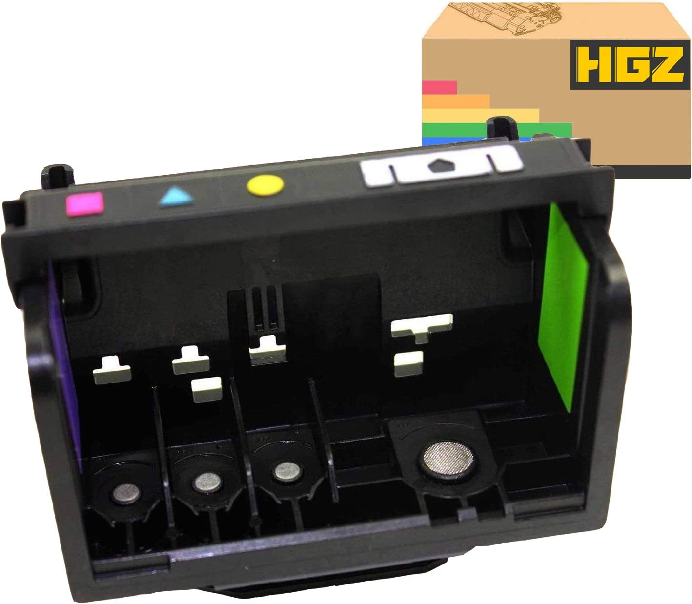 HGZ 1 Pack Remanufactured Printer Head Replacement for 920 Printhead 4 Slot Compatible for HP OfficeJet 6000 OfficeJet 6500 OfficeJet 6500A OfficeJet 7000 OfficeJet 7500A Printer