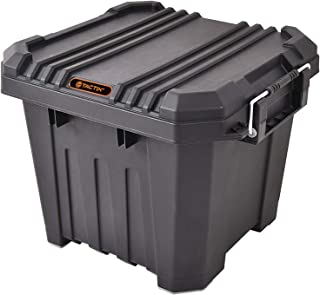 Tactix 30 Liter Heavy Duty Storage Box - Black