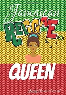 Jamaican Reggae Queen Daily Planner Journal: Afro Black African Descent Women Motivational Gratitude Agenda Organizer To Write In