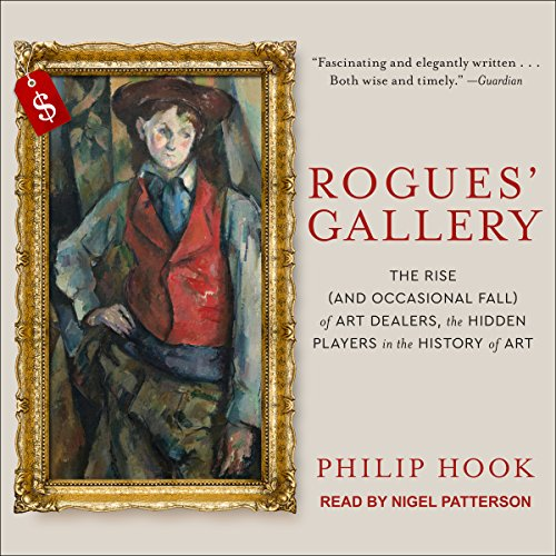 Rogues' Gallery audiobook cover art