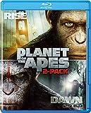 猿の惑星:創世記(ジェネシス)+猿の惑星:新世紀(ライジング) ブルーレイセット(2枚組)(初回生産限定) [Blu-ray] image