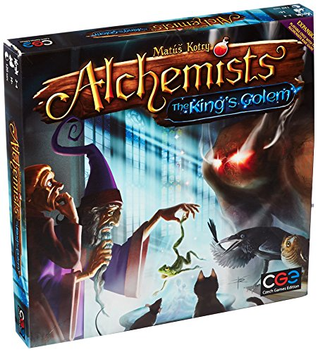 Czech Games Edition CGE00038 Nein Alchemists: The King's Golem, Spiel