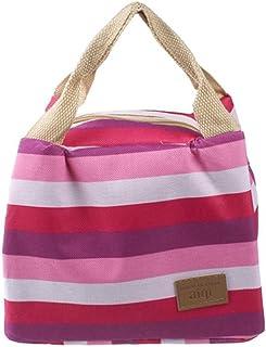 Haoricu Handbag Pouch, Picnic Insulated Food Storage Box Tote Bento Lunch Bag