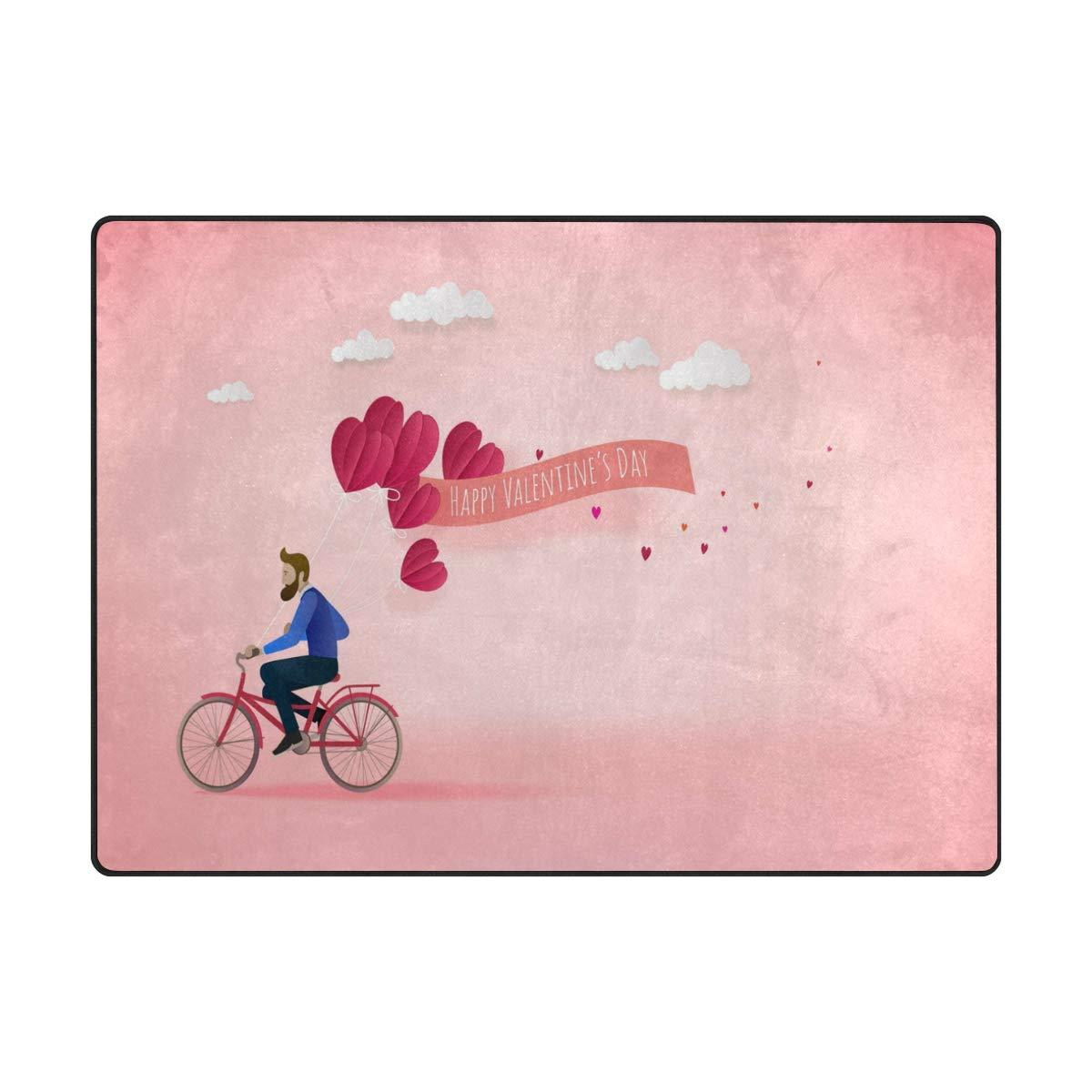 Use7 Feliz día de San Valentín Corazón Globo Hombre Paseo ...