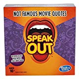 Hasbro Gaming Speak Out Expansion Pack: Not Famous Movie Quotes