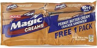 Jack 'n Jill Magic Creams Peanut Butter Cream Cracker Sandwich, 308g, 3 Pack
