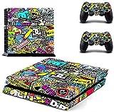 Controlador de Color de Adhesivos Mando Inalámbrico para Playstation 4 PS4
