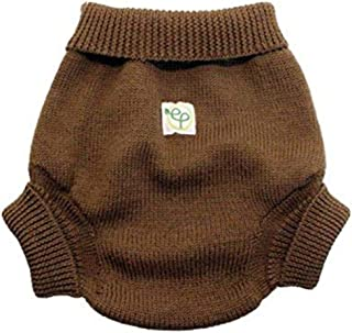 Kanga Care EcoPosh Wool Diaper Cover, Umber, Size 1