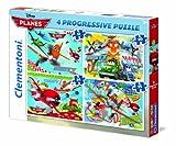 Clementoni - Puzzle Aviones Disney Aviones de 91 Piezas