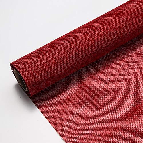 Zhou-WD 1 rol linnen inpakpapier, slijtvast groot formaat decoratief materiaal Halloween Thanksgiving Gift inpakpapier Gift Shop Origami 48 * 450CM 4