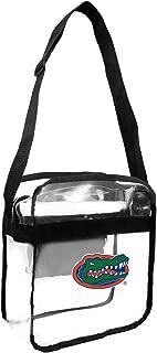Littlearth NCAA Florida Gators Clear Carryall Crossbody Bag, 12