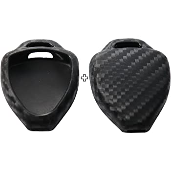 4PCS Black NEX Performance Silicone Key Protector Covers