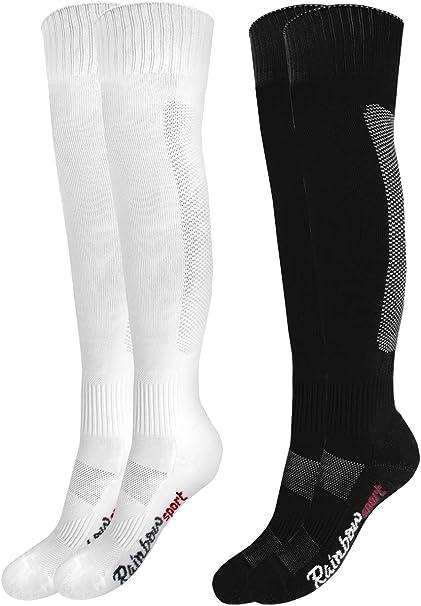 Rainbow Socks Femme Homme Chaussettes Hautes de Football