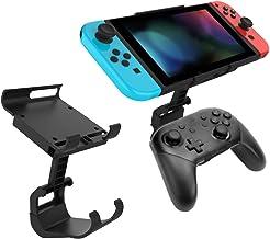 Docooler Suporte de controle de jogo, suporte de clipe ajustável, compatível com Nintendo Switch Pro, suporte de gamepad p...