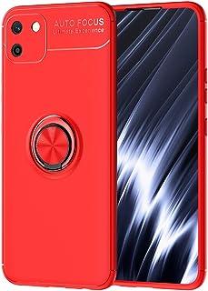 حافظة FanTing لـ Realme C11، 360 درجة قابل للتعديل حلقة دوارة، متوافق مع حامل سيارة مغناطيسي، غطاء مقاوم للزلال Realme C11...