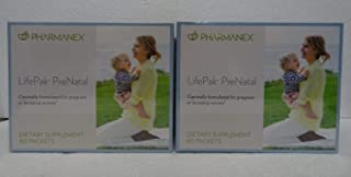 Pack of Two: Pharmanex LifePak Prenatal 60 Packets x2