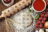 ArtDog Ltd. Thai Ridgeback, gravierter Nudelholz, für Kuchen und Kekse, Küchengerät