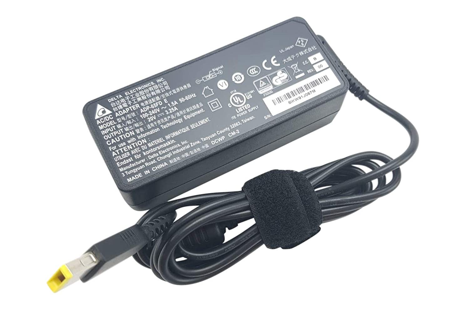 Delta Electronics Lenovo Flex 2 Flex 3 Yoga 11 11S Ideapad 300 300S 500 500S PA-1650-72 Laptop Charger AC Adapter Power Supply Cord Cable