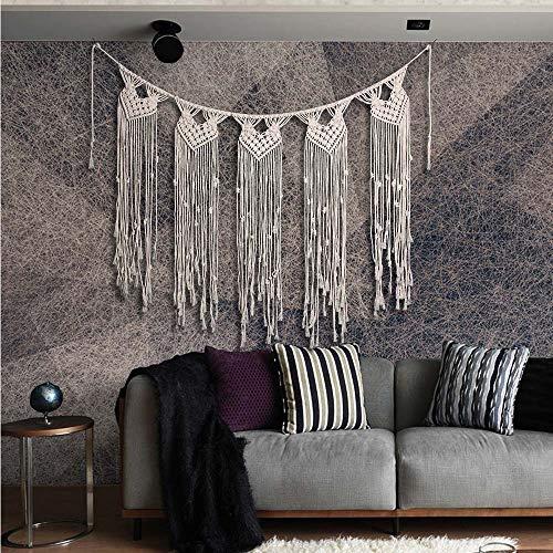 Niustyle Large Macrame Wall Hanging Boho Wedding Hanger Curtain Banner Bohemian...