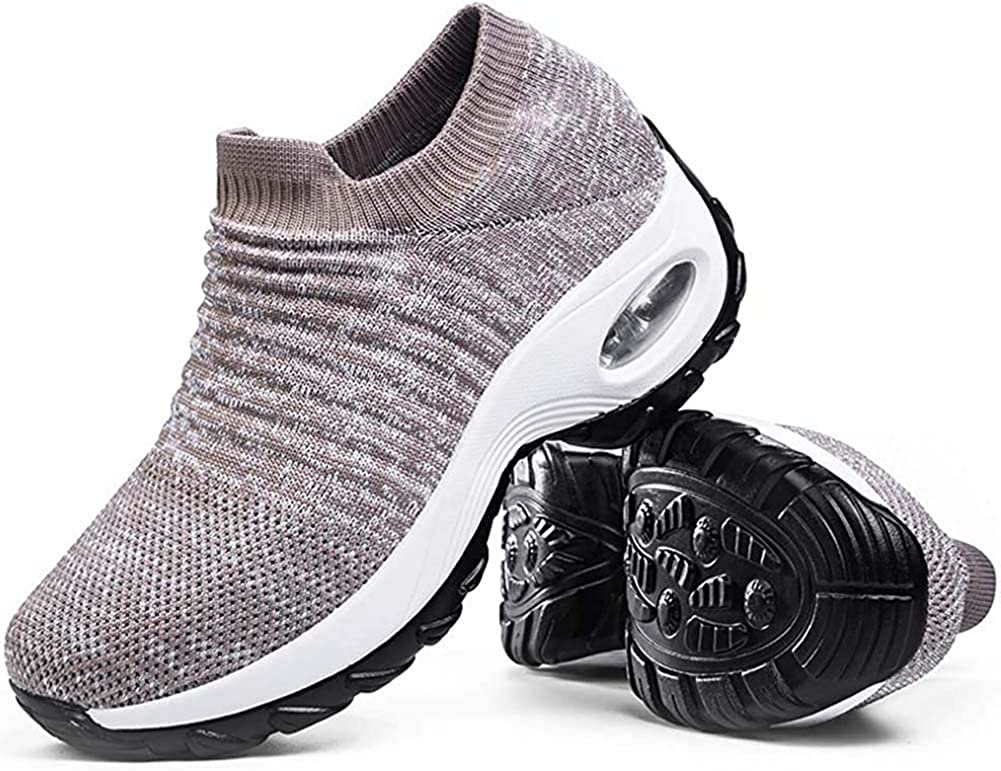Cenim Walking Shoes for Women Sneakers 返品不可 お見舞い Air Cushion Athletic Sock