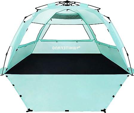 WhiteFang Deluxe XL Pop Up Beach Tent Sun Shade