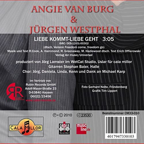 Angie van Burg & Jürgen Westphal