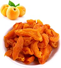 Naturally Sweet Organic Dried Apricots, 18oz Resealable Bulk Bags, No Added Sugar Healthy Pitted Apricot Fruit, Good Sourc...