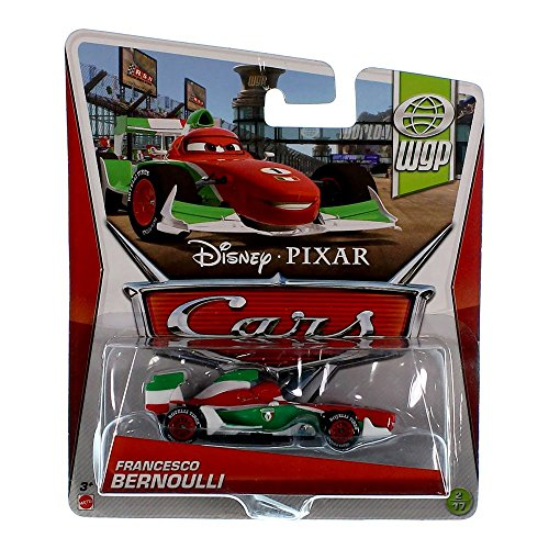Disney Cars Y0475 Francesco Bernoulli Collektion World Grand Prix