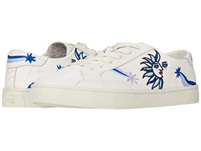 Soludos Cosmic Star Sneaker (White) Women