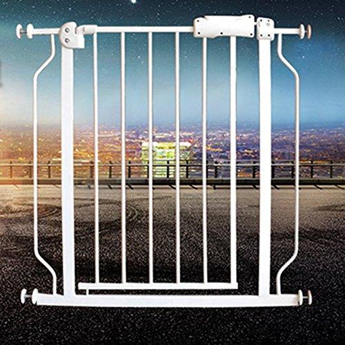 Barrière de sécurité Porte avec La Porte d'animal Familier Verrouillable Barrière Supplémentaire De Portes De Bébé pour Le Protecteur Intérieur De Mur D'escalier 74-194cm Large (Taille : 170-182CM)