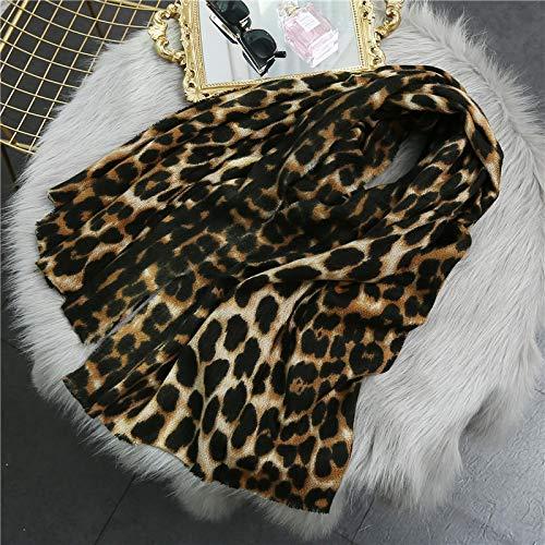 Schal Damen Winter Warme Frauen Schal Mode Leopardenmuster Lady Thick Soft Tücher Und Wraps Weibliche Schals Decke C1