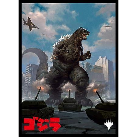 エンスカイ マジック:ザ・ギャザリング プレイヤーズカードスリーブ 『イコリア:巨獣の棲処』 《原始の王者、ゴジラ》 (MTGS-140)