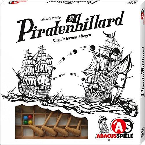 ABACUSSPIELE 01891 - Piratenbilliard, Holzspiel, Geschicklichkeitsspiel von Reinold Wittig