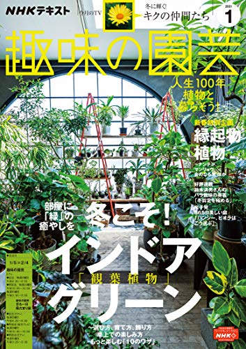 NHK 趣味の園芸 2021年 1月号 [雑誌] (NHKテキスト)
